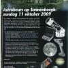 Aankondiging Astrobeurs Sonnenborgh (Utrecht)11 okt 2009